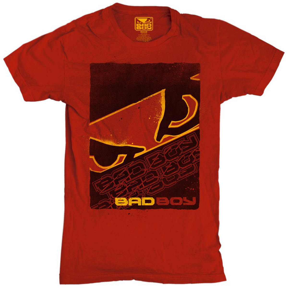 Bad Boy Youth Face Puncher T-Shirt - Red