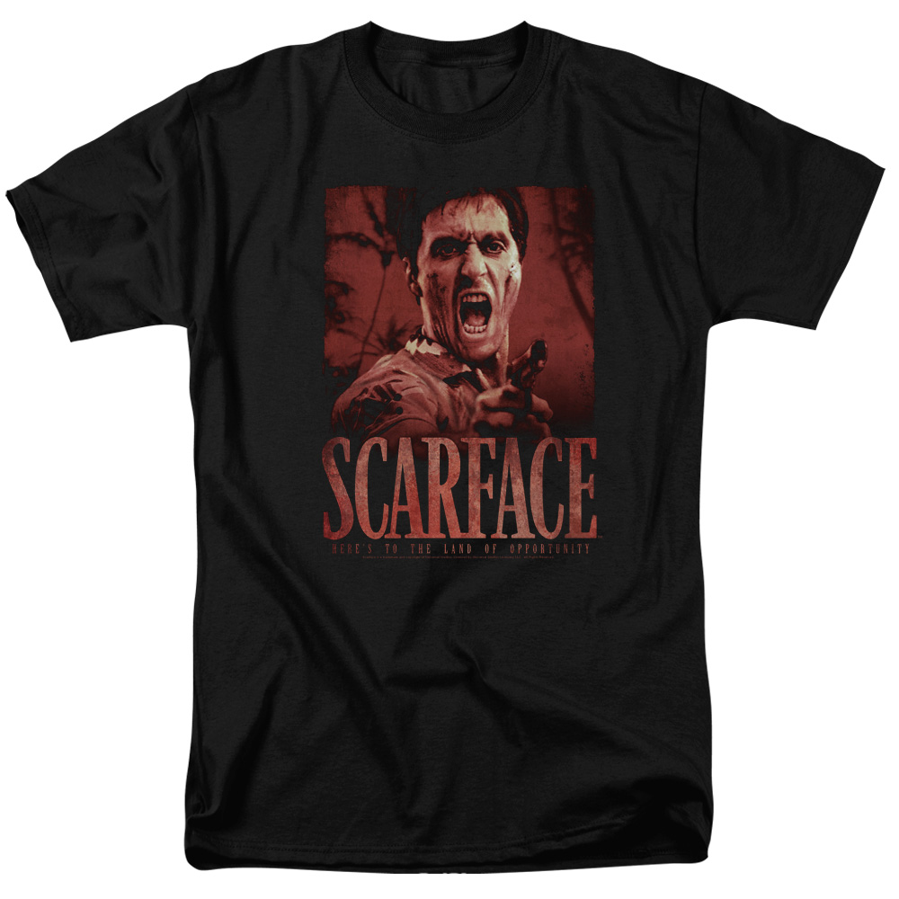 Scarface Opportunity Mens Short Sleeve Shirt
