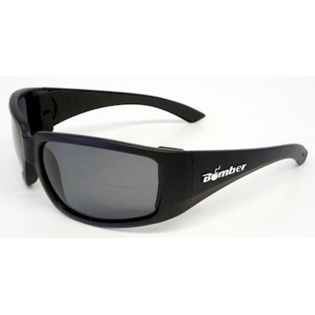 ST103 Stink-Bomb Safety Glasses - Smoke Lens..., By Bomber Ship from (Bieber Glasses)