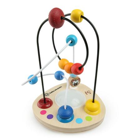 Baby Einstein Color Mixer Wooden Bead Maze Toddler Toy, Ages 12 months +