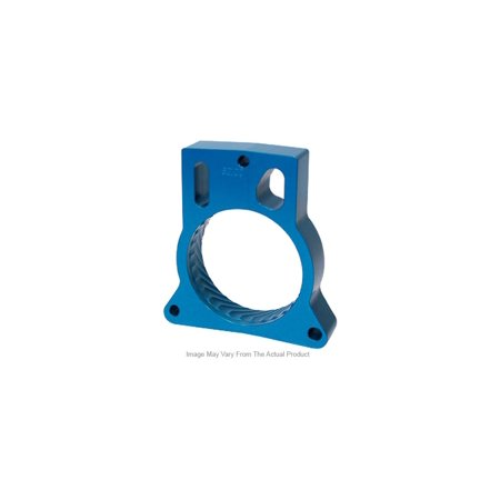 Jet Performance 62156 Throttle Body Spacer, Blue Anodized - Aluminum Throttle Body