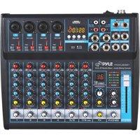 Pyle PMXU83BT 8-Channel Bluetooth Studio Mixer