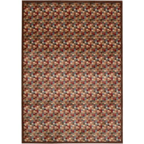 Nourison Somerset ST84 Woven Polyacrylic Rug, Multicolor