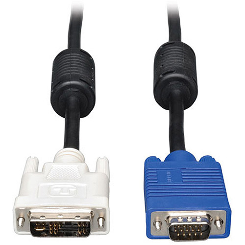 Tripp Lite DVI to VGA Cable, 10'