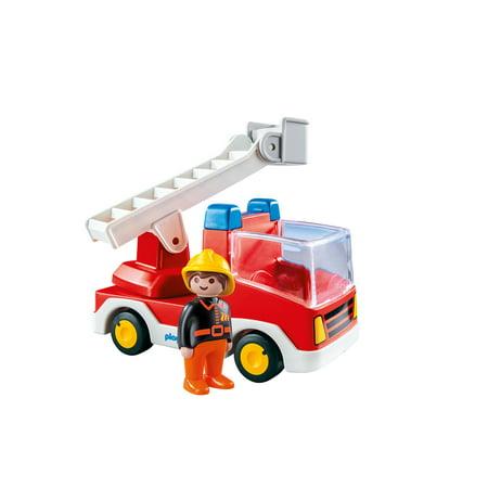 PLAYMOBIL Ladder Unit Fire
