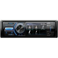 JVC KD-X560BT Single-DIN In-Dash Powersports/Marine AM/FM/CD Receiver with Bluetooth