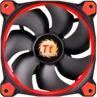 Thermaltake Riing 12 Red LED 120mm Computer PC Case Fan - CL-F038-PL12RE-A