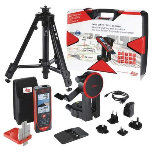 Leica Disto Laser Distance Meter Kit, S910 Pro Package