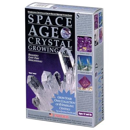 Space Age Crystals: 4 Crystals