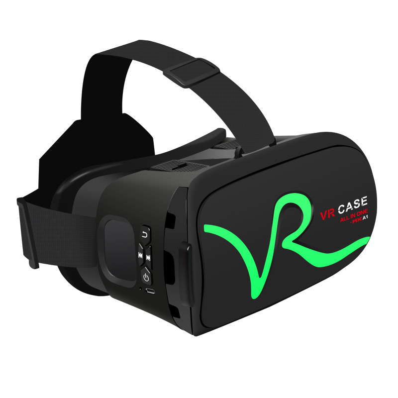 Touch VR Case Headset Virtual Reality 3D Glasses Case For iOS Android Smartphone