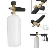 Foam Lance Snow Pressure Gun & Bottle Foamer Wash Quick Adapter Jet