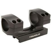"Truglo TG8964B Riser Mount 1-Piece Base 30mm Dia 1"" Black Matte Anodized"