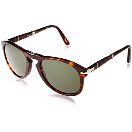 38535172954 Persol - Persol PO0714 24 31 54mm Havana Crystal Green Folding Sunglasses  Bundle-2 Items - Walmart.com