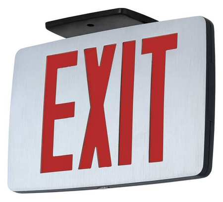 Exit Sign with Battery Backup, Hubbell Lighting - Compass, CCEDRE