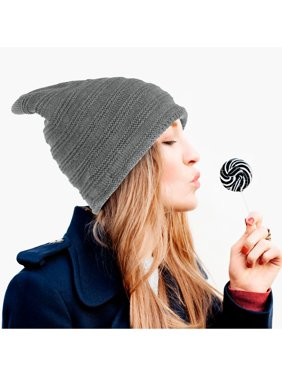 Product Image Zodaca Insulated Warm Winter Chunky Slouchy Soft Stretch Knit  Lined Knitted Baggy Hat Skully Cap Beanie 710309b8df80