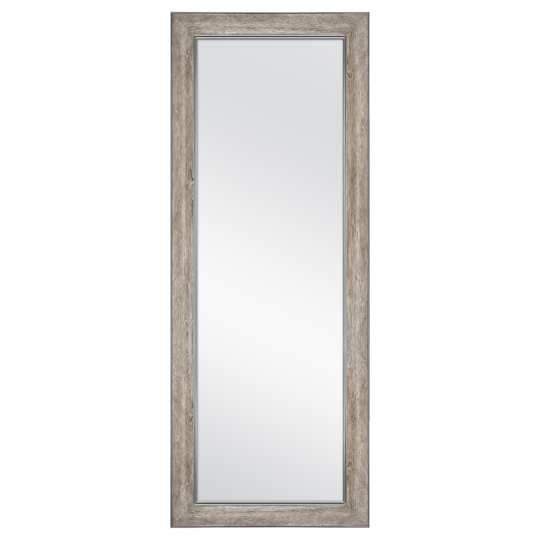 "Better Homes & Gardens 27"" x 70"" Leaner Mirror, Gray Rustic"