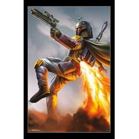 Star Wars - Boba Fett Laminated Poster Print (22 x 34)