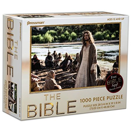 Pressman Toys The Bible Puzzle Style #2 - Bible Toys