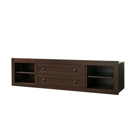 Smartstuff Classics Storage Trundle Shelf Saddle Brown Product Image