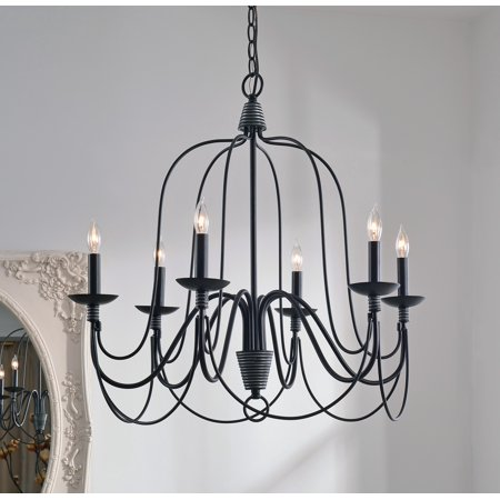 Bronze Large Center Bowl Chandelier (Kenroy Home Pannier Oil Rubbed Bronze Chandelier )
