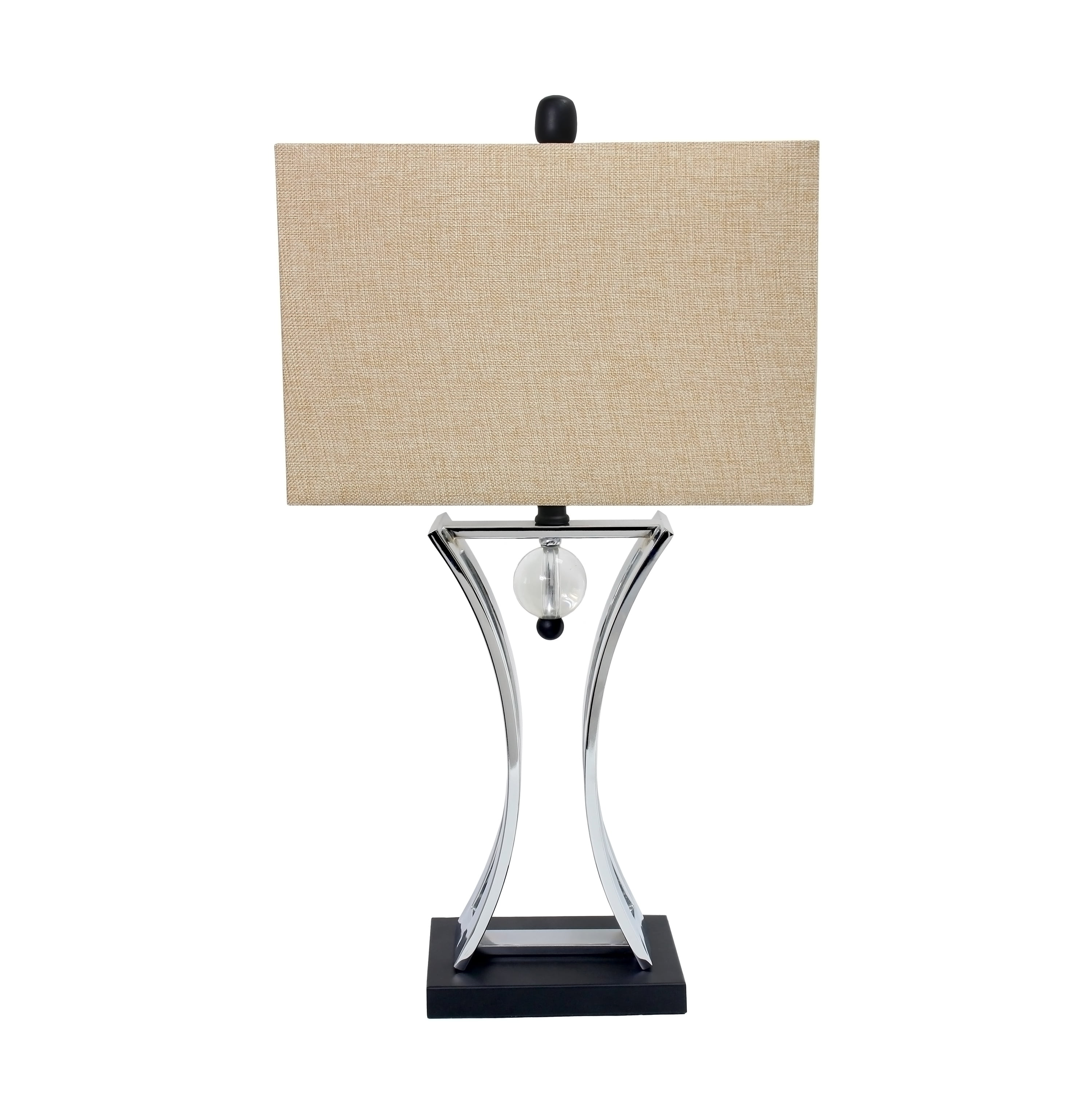 Conference Room Hourglass-Shape with Pendulum Table Lamp by All the Rages