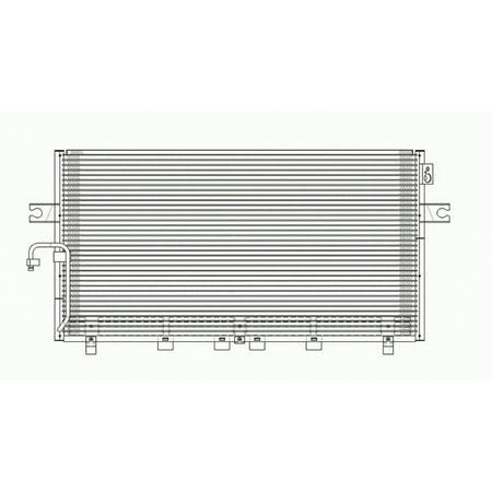air conditioning condenser for 00-01 infiniti i30, nissan maxima ni3030107
