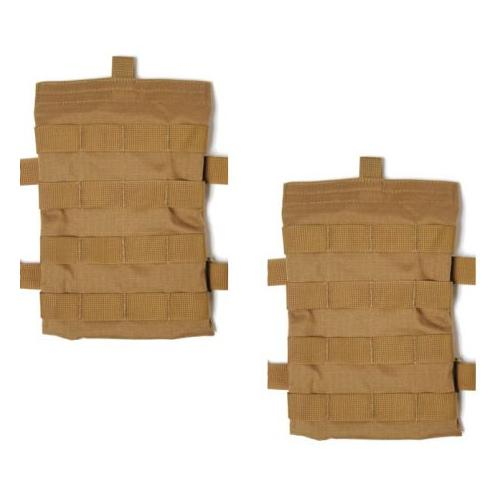 Blackhawk Removeable Side Plate Carrier - Set of 2, Coyote Tan, Made in USA 32AC
