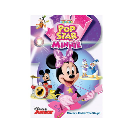 Mickey Mouse Clubhouse: Rock Star Minnie (DVD)](Minnie Mouse Movie)