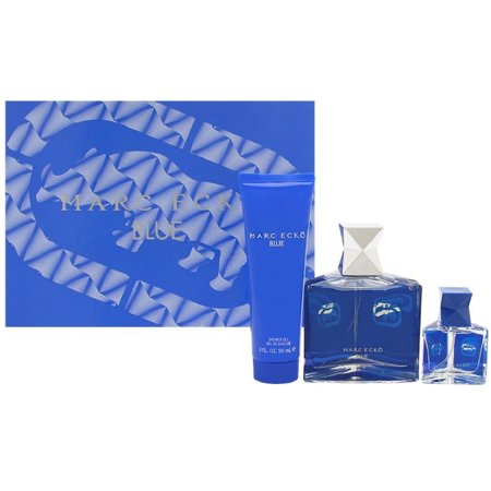 4 Pack - Marc Ecko Blue 4 Piece Gift Set For Men 1 ea 4 Piece Complete Set