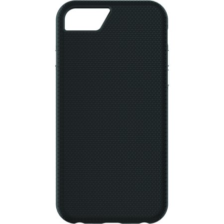Telephone Test Set - Onn 6-Foot Drop Tested Dual Layer Phone Case For iPhone 5/5S/SE, Black
