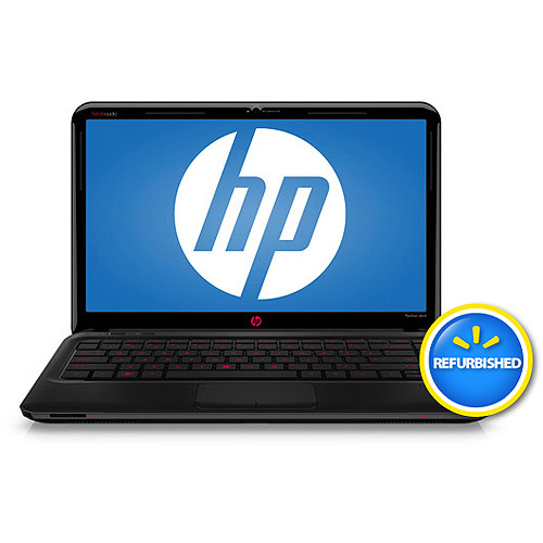 "HP Refurbished Black 14"" Pavilion Beats Edition dm4-3099se Laptop PC with Intel Core i5-2450M Processor and Windows 7 Home Premium 64-Bit"