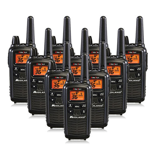 Midland LXT600VP3 (10 Pack) 2Way Radio by Midland