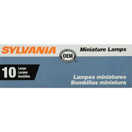 1155 Miniature (SYLVANIA 1155 Basic Miniature Bulb, (Pack of 10) )