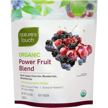 Natures Touch Organic Power Fruit Blend  32 Oz    6 Pack