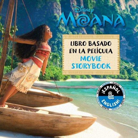 Disney Moana: Movie Storybook / Libro basado en la película - Halloween Stories Spanish