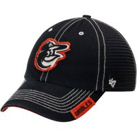 Baltimore Orioles '47 Turner Clean-Up Adjustable Hat - Black - OSFA