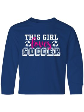 ab47471cd Product Image This Girl Soccer Youth Long Sleeve T-Shirt Sports Fan Cheer  High