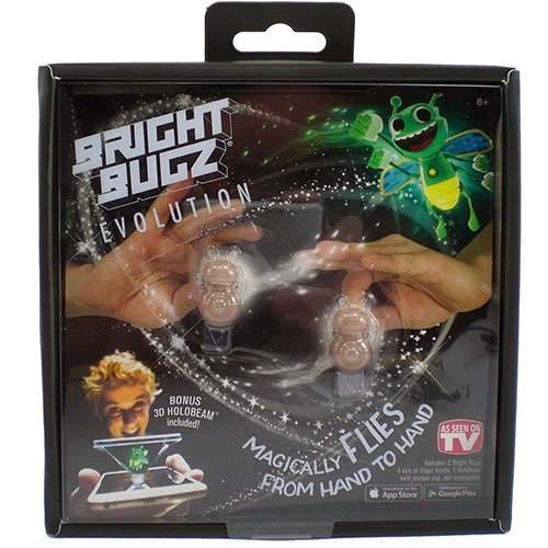 White Bright Bugz Evolution Magic Lights by NOWSTALGIC TOYS