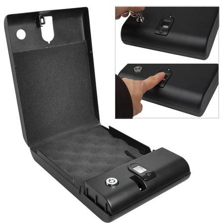 Ktaxon Optical Fingerprint Electronic Digital Car Gun Safe Security Box Lock Black