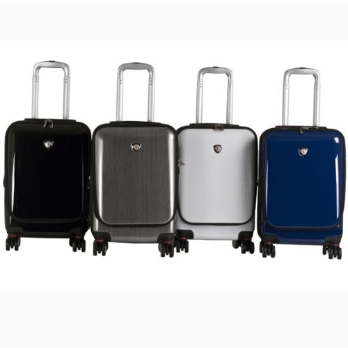 CalPak Cannes 20-inch Carry-on Lightweight Expandable Hardside Spinner Upright Black