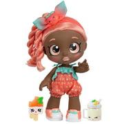 Kindi Kids Snack Time Friends - Pre-School Play Doll, Summer Peaches