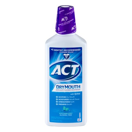 ACT® Dry Mouth Alcohol Free Rinse, 18oz