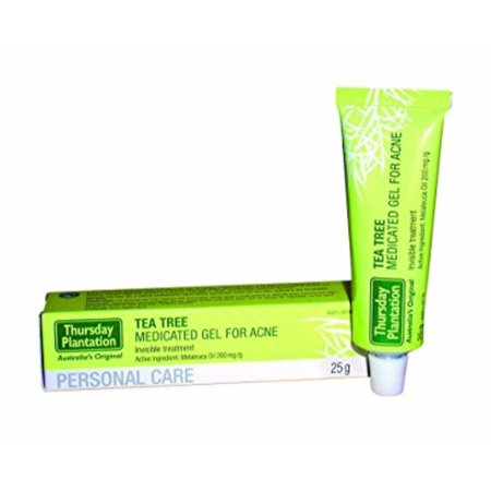 Thursday Plantation Tea Tree Medicated Gel For Acne (Best Topical For Acne)