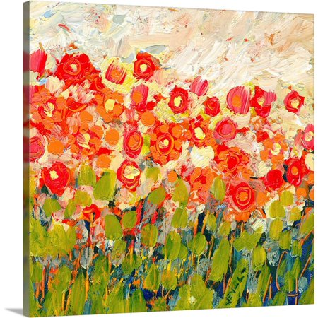 "Great BIG Canvas | ""Memories of a Spring Day"" Canvas Wall Art"