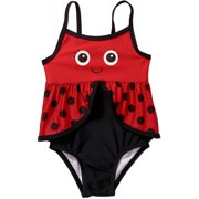 Toddler Girl Lady Bug One-Piece Swimsuit-Online Exclusive