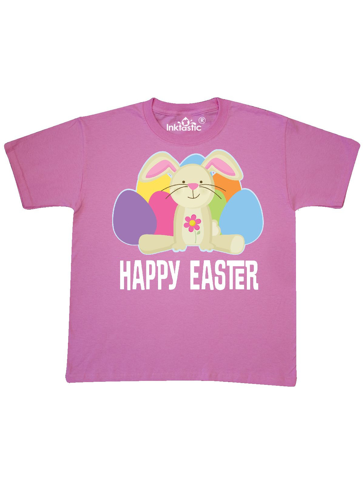 Happy Easter Bunny Holiday Eggs Youth T-Shirt