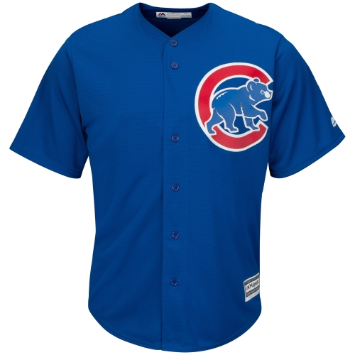 Chicago Cubs Majestic Youth Official Cool Base Jersey - Royal