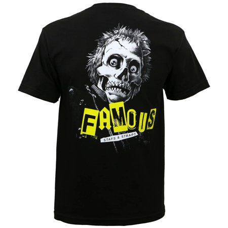Famous Stars   Straps Mens Wanna Destroy T Shirt Black