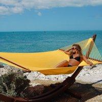 large caribbean lchcra with footrest htm hammocks p chair polyester rainbow hammock