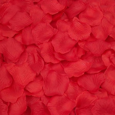 Mosunx 2000pcs Red Silk Rose Artificial Petals Wedding Party Flower Favors - Silk Rose Petals Bulk